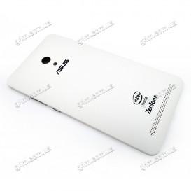 Задняя крышка Asus ZenFone 6 (A600CG) белая (Оригинал)