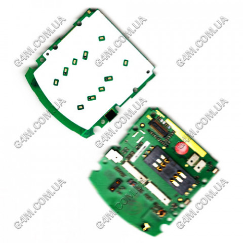 Плата клавиатуры Motorola L6 с компонентами