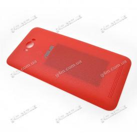 Задняя крышка Asus ZenFone Max (ZC550KL) красная (Оригинал)