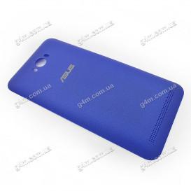 Задняя крышка Asus ZenFone Max (ZC550KL) синяя (Оригинал)