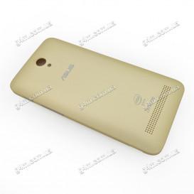 Задняя крышка Asus ZenFone C (ZC451CG) золотистая (Оригинал)