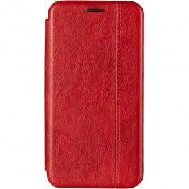 Чехол-книжка Gelius для Huawei Y6s, Y6 Prime (2019), Honor 8a красного цвета