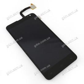Дисплей Fly IQ4514 Quad EVO Tech 4 с тачскрином, черный