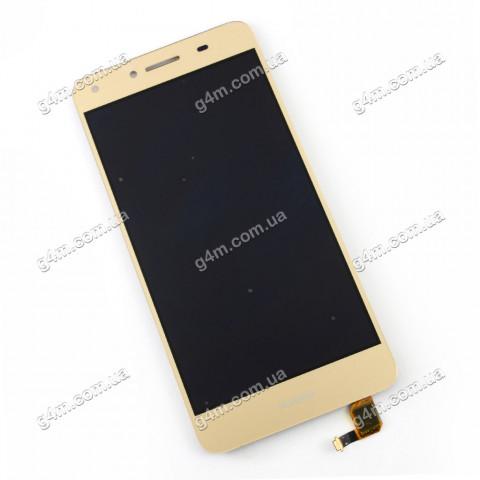 Дисплей Huawei Y5 II с тачскрином, золотистый