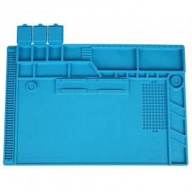 Силиконовый термостойкий коврик для пайки S-170 (48 см на 32 см)