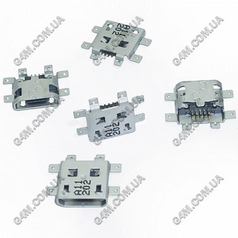 Коннектор зарядки HTC T328E Desire X, T328W Desire V, G24 T320E One V, T326E Desire SV, C110e Radar, C525e One SV, PL80110, PL80120