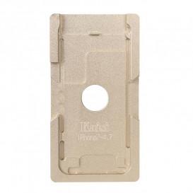 Форма металлическая для установки стекла с рамкой Apple iPhone 7: 4.7-дюйма (металлическая)