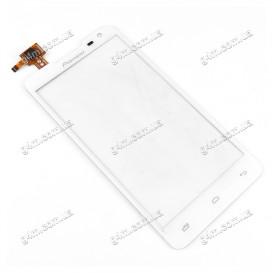 Тачскрин для Prestigio MultiPhone 5044 DUO (PAP5044DUO), Pioneer S90W белый