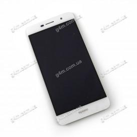 Дисплей Huawei Y6 Pro, Enjoy 5 с тачскрином, белый
