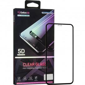 Защитное стекло Gelius Pro Clear Glass для iPhone 11 (черное 5D стекло)