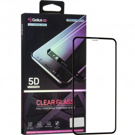 Защитное стекло Gelius Pro Clear Glass для iPhone 11 Pro Max (черное 5D стекло)