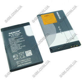 Аккумулятор BL-4C для Nokia 1202, 2650, 2652, 3500 classic, 5100, 6100, 6101, 6103, 6125, 6131, 6136, 6170, 6230, 6230i, 6260, 6300, 6301, 6600, 6670, 7200, 7270, 7610 (High Copy)
