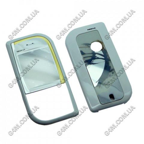Корпус Nokia 7610 белый с золотистым, High Copy