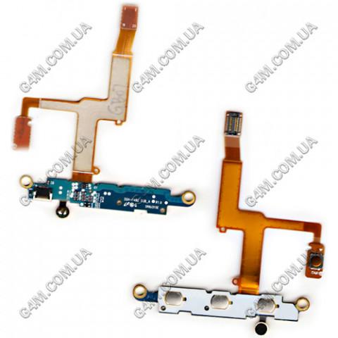 Плата клавиатуры Samsung F480 с компонентами и микрофоном