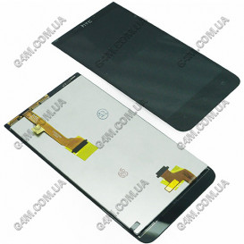 Дисплей HTC Desire 501 с тачскрином, черный
