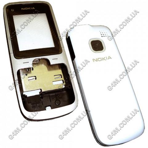 Корпус Nokia C1-01 белый, High Copy