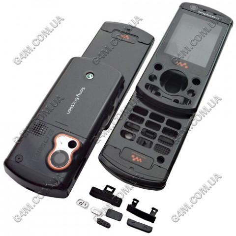 Корпус Sony Ericsson W900i черный, High Copy