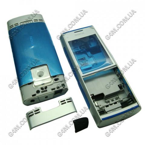 Корпус Nokia X2-00 серебристый (High Copy)