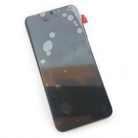 Дисплей Huawei Honor 8x (JSN-L21) с тачскрином и рамкой, черный (Оригинал)