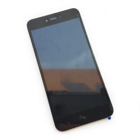 Дисплей Xiaomi Redmi Note 5a с тачскрином и рамкой, черный