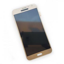 Дисплей Samsung J701F, J7 Neo с тачскрином, золотистый (копия)