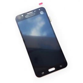 Дисплей Samsung J701F, J7 Neo с тачскрином, черный (копия)