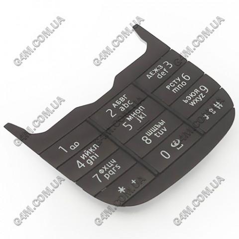 Клавиатура Nokia 7230 цифровая, русская, черная (Оригинал)