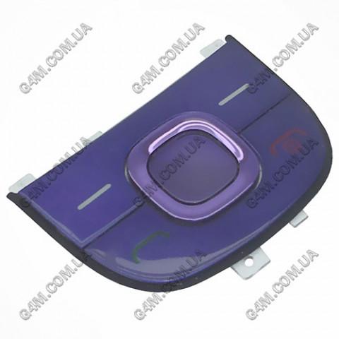 Клавиатура Nokia 2220 slide, верхняя, фиолетовая (Оригинал)