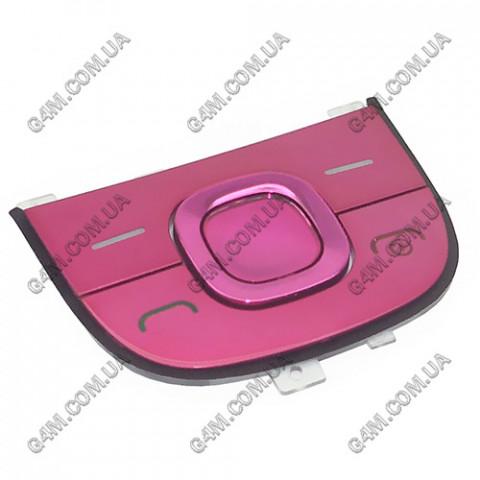 Клавиатура Nokia 2220 slide, верхняя, розовая (Оригинал)
