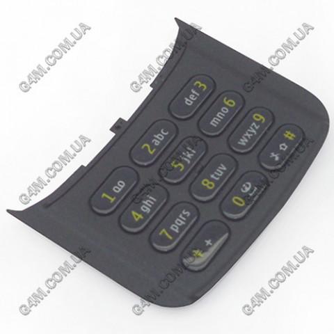 Клавиатура Nokia N86 цифровая, черная (Оригинал)