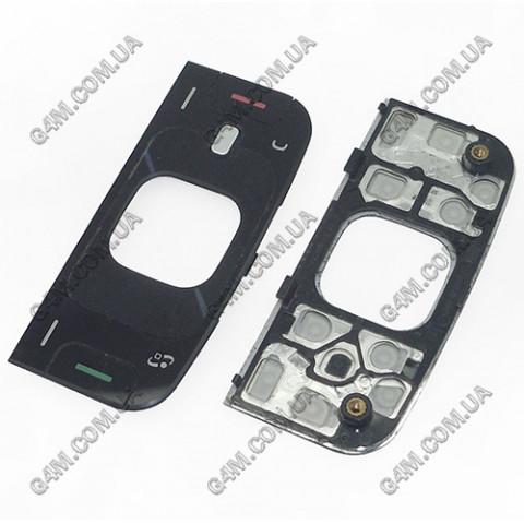 Клавиатура Nokia N88 верхняя, черная (Оригинал) слегка б/у