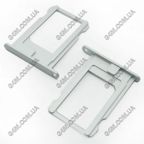 Держатель Sim карты Apple iPhone 5 белый