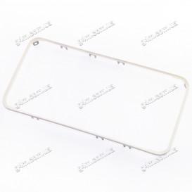 Рамка крепления дисплейного модуля для Apple iPhone 4S (белая)