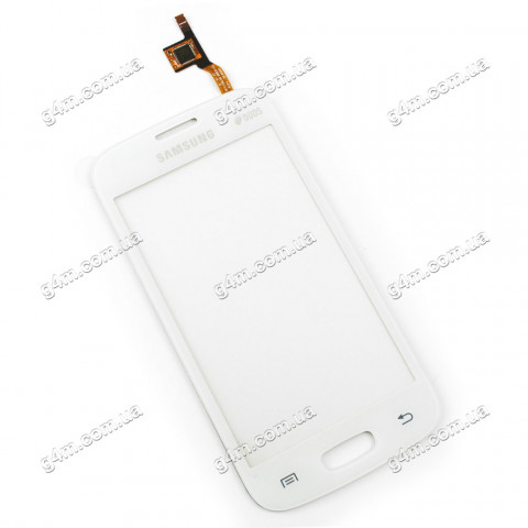 Тачскрин для Samsung S7262 Galaxy Star Plus Duos, белый (Оригинал)