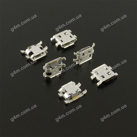 Коннектор зарядки BlackBerry 8900, 9220, 9320, 9500, 9520, 9530, 9550, 9650, 9700