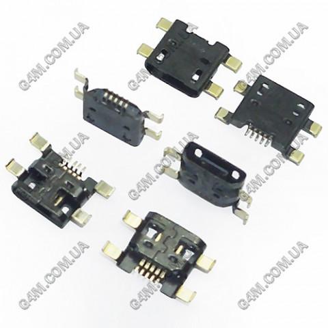 Коннектор зарядки HTC G23, S720e One X, X325 One XL, S728e One X+, G24, T320E One V, G25, Z320e, Z520e, Z560e One S