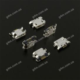 Коннектор зарядки Lenovo A565, A586, A630T, A670T, A706, A800, A850, P780, S6000, S820, S880, S920; Fly E154, IQ240 Whizz, IQ431 Glory, IQ432 Era Nano 1, IQ449 Pronto, IQ457 Quad Univesre; HTC Desire 516