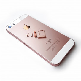 Корпус Apple iPhone 5SE розовый