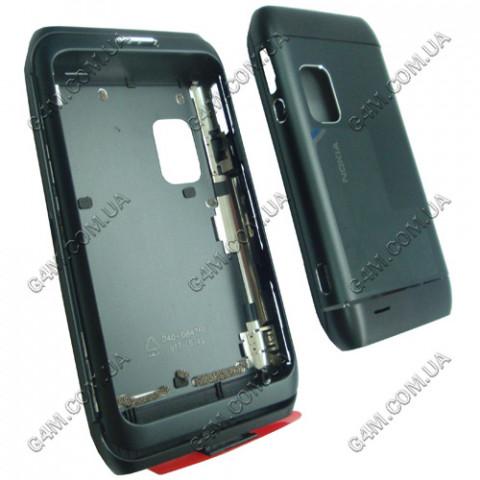 Корпус Nokia E7-00 чёрный, High Copy