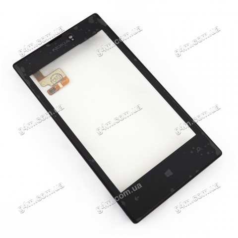 Тачскрин для Nokia Lumia 520, Lumia 525 с рамкой (Оригинал China)