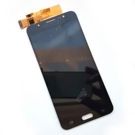 Дисплей Samsung J710F, J710FN, J710H, J710M Galaxy J7 (2016) черный с тачскрином, копия