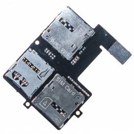 Модуль Сим карты и карты памяти HTC Desire 600 Dual sim, Desire 606w