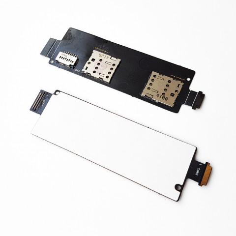 Модуль Сим карты Samsung S8500 Wave с звонком