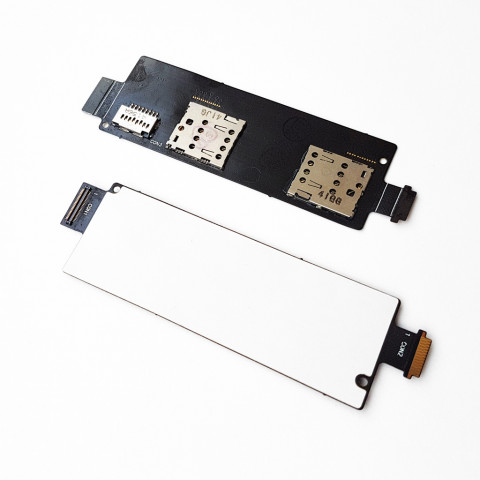 Модуль Сим карт Asus A502CG ZenFone 5 Lite с компонентами