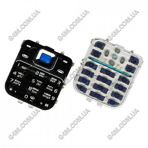 Клавиатура Nokia 7360 черная, русская, High Copy