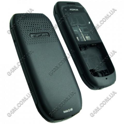 Корпус Nokia C1-00 темно-серый, High Copy