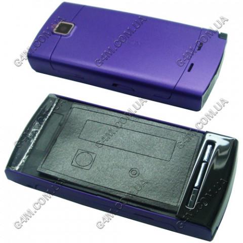 Корпус Nokia 5250 фиолетовый с клавиатурой, High Copy