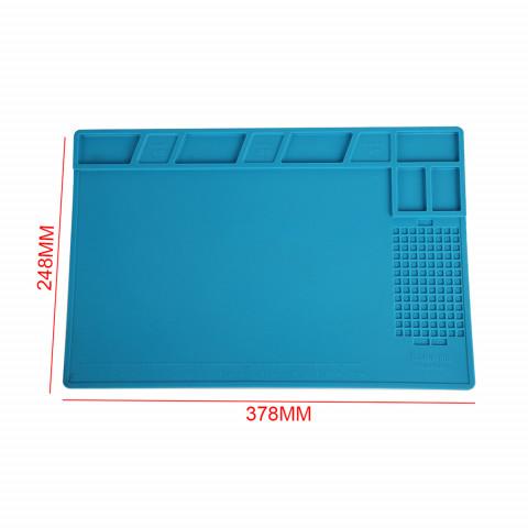 Силиконовый термостойкий коврик для пайки KS-802 (38см на 25см)