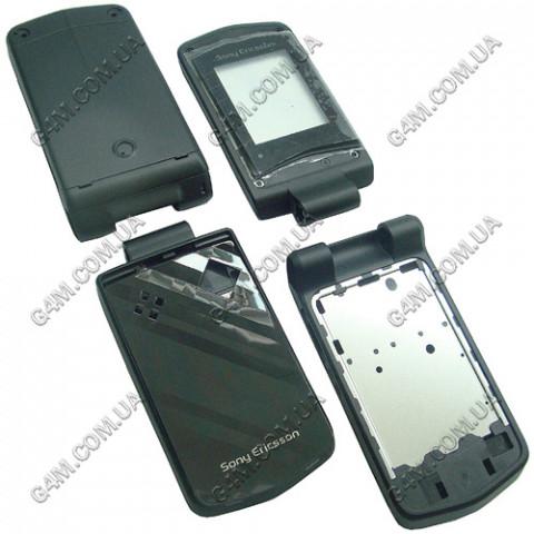 Корпус Sony Ericsson Z555i чёрный, High Copy