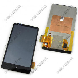 Дисплей HTC T9292 HD7 с тачскрином (Оригинал)
